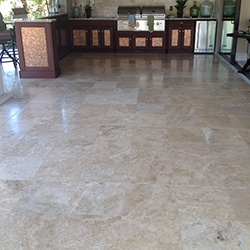 Travertine and Terrazzo Floor Cleaning and Refinishing